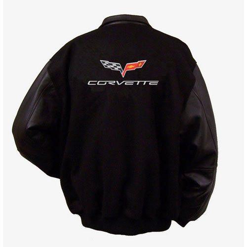 Z06 Corvette Varsity Jacket back
