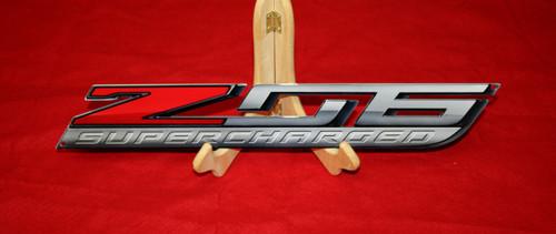 C7 Z06 Corvette Metal Sign (18x3)