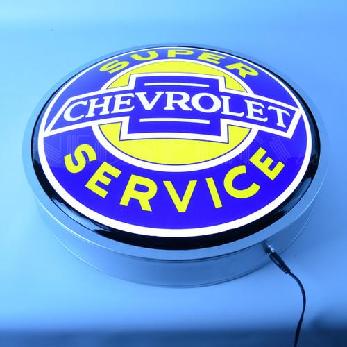 Chevrolet Super Service Backlit Sign alt