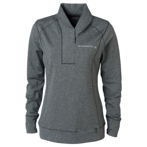 Ladies C7 Stingray Half-Zip Sweater