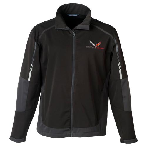 C7 Corvette Grand Sport Jacket (black/gray)