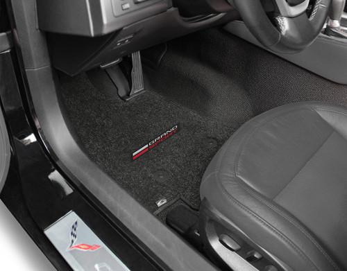C7 Grand Sport Lettering Only Floor Mats