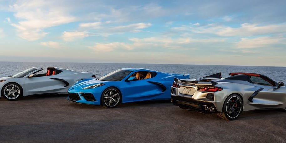 3 New C8 Corvettes!