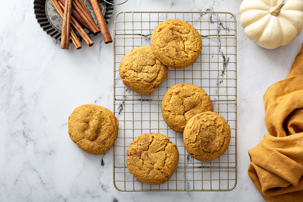 Fall Pumpkin Cookie Recipe