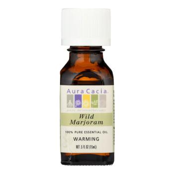 Aura Cacia - Pure Essential Oil Wild Marjoram - 0.5 Fl Oz