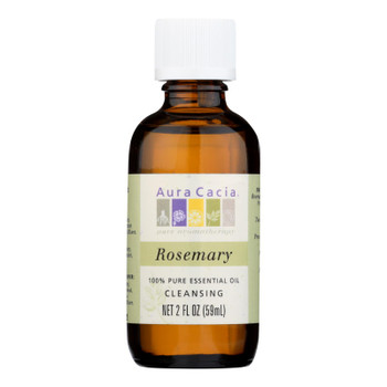 Aura Cacia - 100% Pure Essential Oil Rosemary Cleansing - 2 Oz