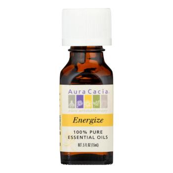 Aura Cacia - Pure Essential Oil Energize - 0.5 Fl Oz