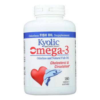Kyolic - Aged Garlic Extract Epa Cardiovascular - 180 Softgels