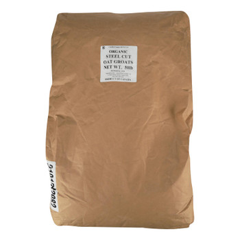 Bulk Grains - Organic Steel Cut Oats - Case Of 50 Lbs
