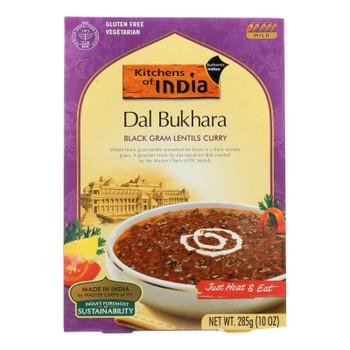 Kitchen Of India Dinner - Black Gram Lentils Curry - Dal Bukhara - 10 Oz - Case Of 6