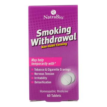 Natrabio Smoking Withdrawl Non-habit Forming - 60 Tablets
