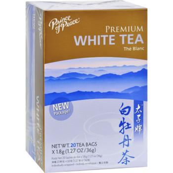 Prince Of Peace Natural Premium Peony White Tea - 20 Tea Bags