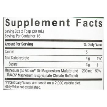 Nature's Answer - Magnesium Malate And Glycinate - Liquid - 16 Fl Oz