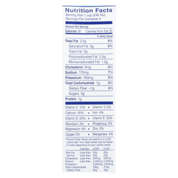 Almond Breeze - Almond Milk - Unsweetened Original - Case Of 12 - 32 Fl Oz.