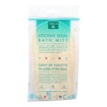Earth Therapeutics Loofah Sisal Bath Mitt - 1 Loofah