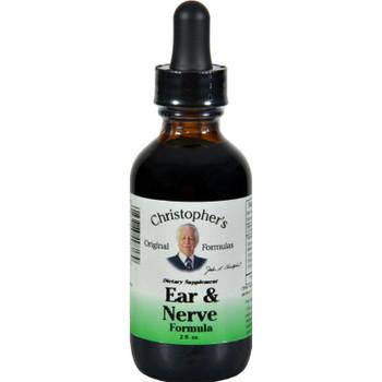 Dr. Christopher's Ear And Nerve - 2 Fl Oz