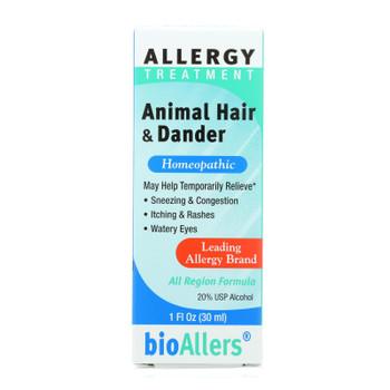 Bio-allers - Animal Hair And Dander - 1 Fl Oz