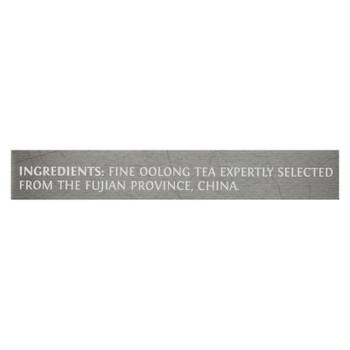 Twining's Tea Black Tea - China Oolong - Case Of 6 - 20 Bags