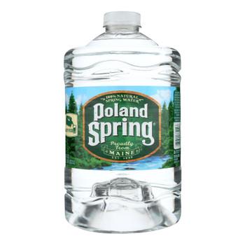 Poland Spring Water - Case Of 6 - 3 Liter