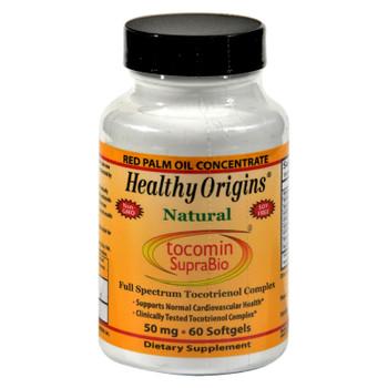 Healthy Origins Tocomin Suprabio - 50 Mg - 60 Softgels