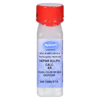 Hyland's Calcium Hepar Sulphate 6x - 250 Tablets