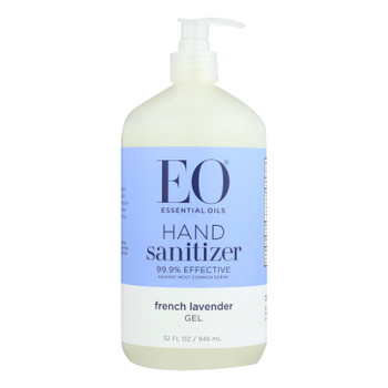 Eo Products - Hand Sanitizing Gel - Lavender Essential Oil - 32 Oz