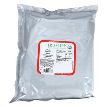 Frontier Herb Psyllium Husk - Organic - Whole - Bulk - 1lb