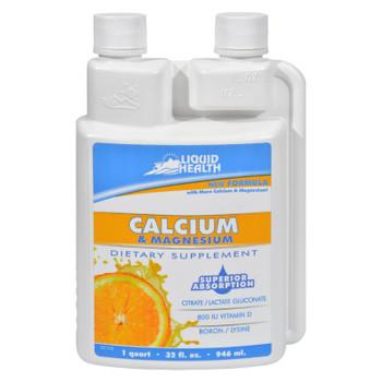 Liquid Health Calcium And Magnesium - 32 Fl Oz
