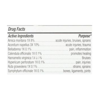 Natrabio The Arnica Rub Pain Relief Cream - 2 Oz
