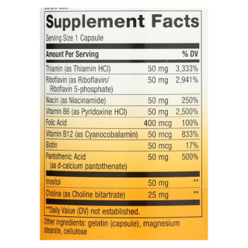 Nature's Way - Vitamin B-50 Complex - 100 Capsules