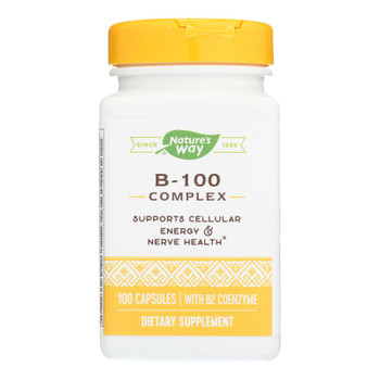 Nature's Way - Vitamin B-100 Complex - 100 Capsules