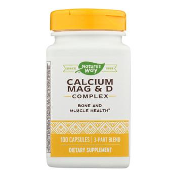 Nature's Way - Calcium Mag And D Complex - 100 Capsules