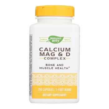 Nature's Way - Calcium Mag And D Complex - 250 Capsules
