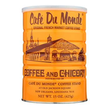 Cafe Du Monde - Coffee - Regular - Case Of 12 - 15 Oz