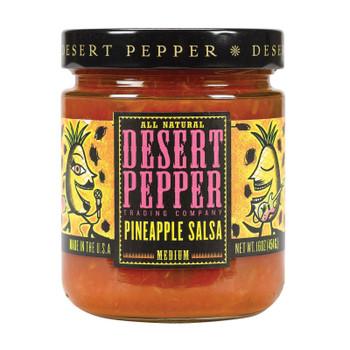 Desert Pepper Trading - Medium Pineapple Salsa - Case Of 6 - 16 Oz.