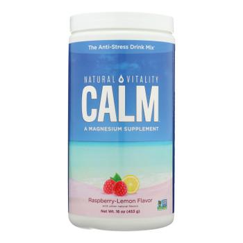 Natural Vitality Natural Calm Raspberry Lemon - 16 Oz
