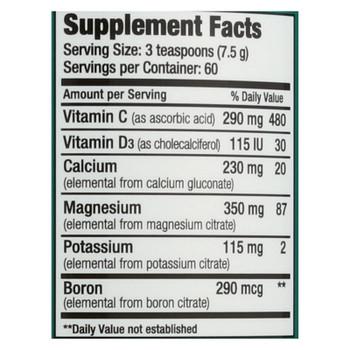 Natural Vitality Natural Calm Plus Calcium - 16 Oz