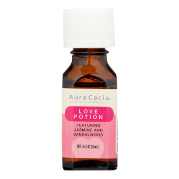 Aura Cacia - Essential Solutions Oil Love Potion - 5 Fl Oz