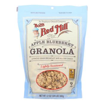 Bob's Red Mill - Apple Blueberry Granola - 12 Oz - Case Of 4