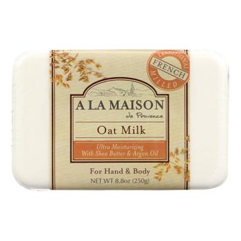 A La Maison - Bar Soap - Oat Milk - 8.8 Oz