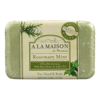 A La Maison - Bar Soap - Rosemary Mint - 8.8 Oz
