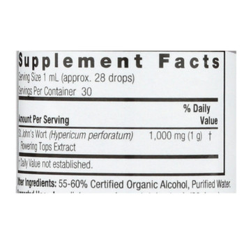 Nature's Answer - St John's Wort Young Flowering Tops - 1 Fl Oz