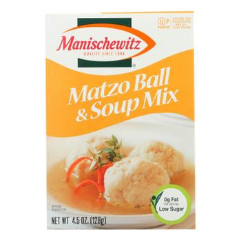 Manischewitz - Matzo Ball And Soup Mix - Case Of 24 - 4.5 Oz.
