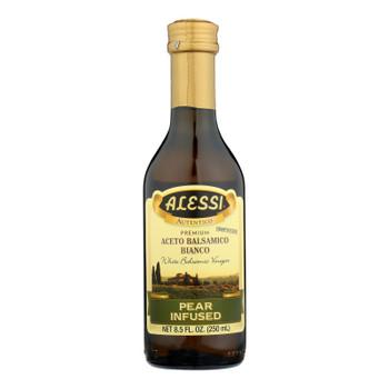 Alessi - Pear Infused Vinegar - White Balsamic - Case Of 6 - 8.5 Fl Oz.