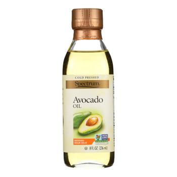 Spectrum Naturals Avocado Oil - Refined - 8 Oz - Case Of 6