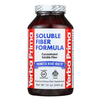 Yerba Prima Soluble Fiber Formula - 12 Oz