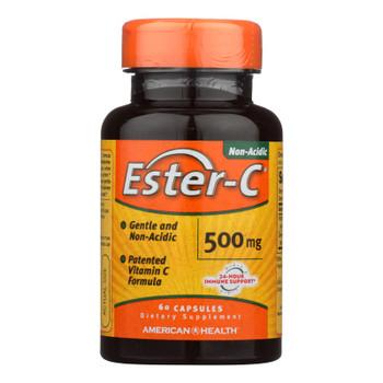 American Health - Ester-c - 500 Mg - 60 Capsules