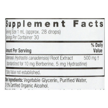 Nature's Answer - Goldenseal Root - 1 Fl Oz