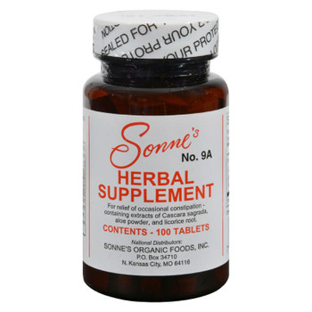 Sonne's No. 9a Herbal Supplement - 100 Tablets
