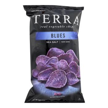 Terra Chips Exotic Vegetable Chips - Blues - Case Of 12 - 5 Oz.